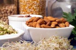 Alimentos saudáveis Fotos de Stock