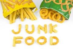 Alimentos sem valor nutritivo Fotografia de Stock