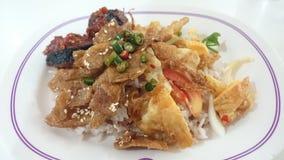 Alimentos superiores do jayfood tailandês de Tailândia imagens de stock