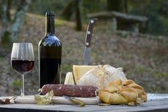 Alimentos típicos de Sardinia imagem de stock
