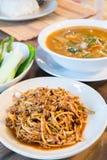 Alimentos tailandeses Foto de archivo