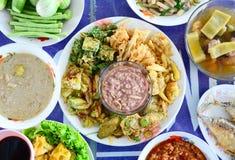 Alimentos tailandeses imagens de stock royalty free
