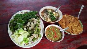 Alimentos tailandeses Fotografía de archivo