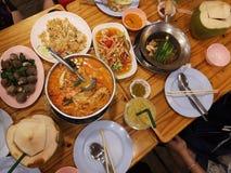 Alimentos tailandeses imágenes de archivo libres de regalías