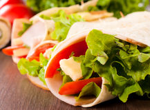 Aliments de préparation rapide Photographie stock