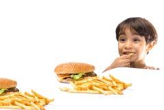 Aliments de préparation rapide Images stock