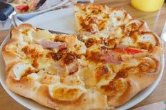Aliments de préparation rapide de pizza Images stock