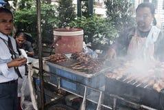 Aliments de préparation rapide de rue Photo libre de droits