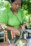 Aliments de préparation rapide en Indonésie photos stock