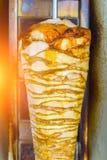 Aliments de préparation rapide de nourriture de Doner de cuisine turque de chiche-kebab photo libre de droits