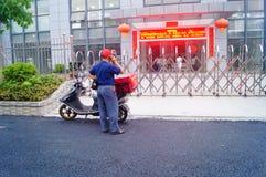 Aliments de préparation rapide à Shenzhen, Chine Photos libres de droits