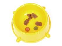 Aliments pour animaux familiers Photographie stock