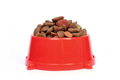 Aliments pour animaux familiers images stock