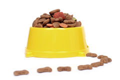 Aliments pour animaux familiers Image stock