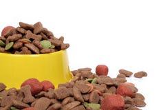 Aliments pour animaux familiers Image libre de droits