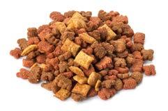 Aliments pour chats secs Images stock