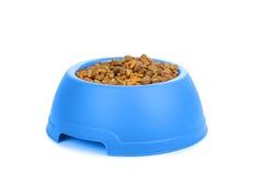 Aliments pour chiens d'isolement photo stock