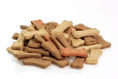 Aliments pour chiens secs Images libres de droits