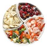 Aliments surgelés Image libre de droits