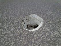 Aliminum grigio nero bianco di Intresting Fotografie Stock Libere da Diritti