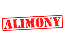 ALIMONY Royalty Free Stock Photography
