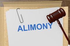 Alimony Royalty Free Stock Photos
