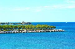 Alimos beach Stock Image