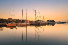 Alimos-Jachthafen in Athen Stockfoto