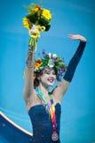 Alina Maksymenko de Ucrânia Imagem de Stock Royalty Free