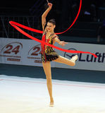 Alina Maksymenko at Deriugina Cup Stock Photos