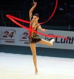 Alina Maksymenko at Deriugina Cup Stock Photos