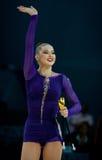 Alina Maksymenko of Ukraine Stock Photo