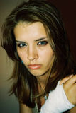 Alina verwundete Lizenzfreie Stockfotografie