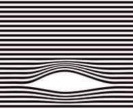 Alinea el fondo Modelo rayado geométrico mínimo blanco y negro ilustración del vector