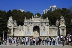 Alineación a mirar el palacio imperial Foto de archivo