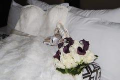 Alineada de boda Foto de archivo libre de regalías