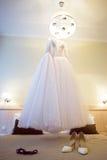 Alineada de boda Fotografía de archivo