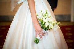Alineada de boda Imagenes de archivo