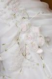 Alineada de boda blanca Fotografía de archivo libre de regalías