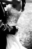 Alineada de la novia Imagen de archivo libre de regalías