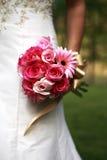 Alineada de la novia Imágenes de archivo libres de regalías