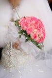Alineada de la novia Fotos de archivo libres de regalías