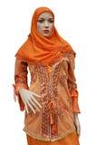 Alineada de las mujeres del Islam fotos de archivo libres de regalías