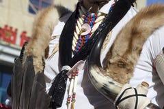 Alineada india nativa Foto de archivo libre de regalías