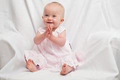 Alineada rosada Imagenes de archivo