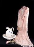 Alineada rosada de la vendimia Fotografía de archivo libre de regalías