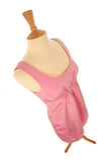 Alineada rosada en maniquí Fotografía de archivo