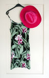 Alineada y sombrero del verano Foto de archivo