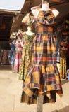 Alineadas africanas Foto de archivo libre de regalías