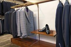 Alineadas y zapatos italianos del estilo Foto de archivo